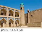 Купить «Uzbekistan, Khiva, Mosque at Ichon Qala Fortress», фото № 13294178, снято 23 февраля 2019 г. (c) age Fotostock / Фотобанк Лори