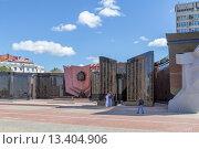Купить «Мемориал Вечный огонь. Хабаровск», фото № 13404906, снято 8 сентября 2015 г. (c) Игорь Сарапулов / Фотобанк Лори