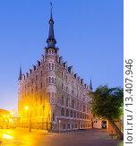 Купить «The Casa de los Botines. Leon», фото № 13407946, снято 22 мая 2019 г. (c) Яков Филимонов / Фотобанк Лори