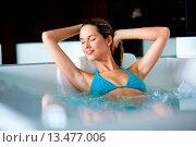 Купить «Woman in spa.», фото № 13477006, снято 19 апреля 2019 г. (c) age Fotostock / Фотобанк Лори