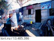 Купить «Mandela Park Imizamu Yethu township in Hout Bay near Cape Town South Africa», фото № 13485386, снято 19 февраля 2019 г. (c) age Fotostock / Фотобанк Лори