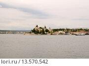 Купить «Вид с Графской пристани в Севастополе. Лето», фото № 13570542, снято 14 июля 2015 г. (c) Ивашков Александр / Фотобанк Лори