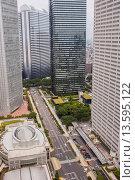Купить «Shinjuku  Skyscrapers in Nishi Shinjuku Tokyo city, Japan, Asia», фото № 13595122, снято 15 ноября 2019 г. (c) age Fotostock / Фотобанк Лори
