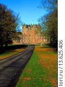 Glamis castle, Angus, Scotland. Стоковое фото, фотограф Geography Photos/UIG / age Fotostock / Фотобанк Лори