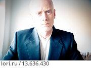 Купить «Portrait of a businessman thinking», фото № 13636430, снято 21 января 2019 г. (c) age Fotostock / Фотобанк Лори