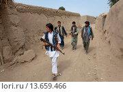 Купить «Warlords in Afghanistan», фото № 13659466, снято 16 июля 2019 г. (c) age Fotostock / Фотобанк Лори