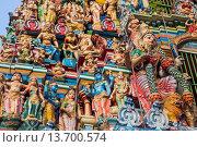 Купить «Asia, Myanmar, Burma, Yangon, Rangoon, Shri Kali Hindu, Shri Kali Temple, Hindi, Hinduism, Temple, Temples», фото № 13700574, снято 8 июля 2020 г. (c) age Fotostock / Фотобанк Лори