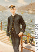 Купить «Edward, Prince of Wales, later to become Edward VIII, as a Naval Cadet after the painting by S. Begg. Edward VIII, Edward Albert Christian George Andrew...», фото № 13741806, снято 15 сентября 2010 г. (c) age Fotostock / Фотобанк Лори