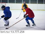 Купить «ice hockey sport players», фото № 13777254, снято 25 июня 2019 г. (c) PantherMedia / Фотобанк Лори