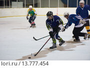 Купить «ice hockey sport players», фото № 13777454, снято 25 июня 2019 г. (c) PantherMedia / Фотобанк Лори