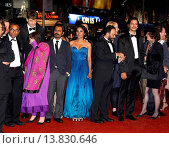 Купить «Nawazuddin Siddiqui, Tannishtha Chatterjee, Amit Kumar, Vijay Verma - Cannes/France/France - 66TH CANNES FILM FESTIVAL - RED CARPET MONSOON SHOOTOUT», фото № 13830646, снято 18 мая 2013 г. (c) age Fotostock / Фотобанк Лори