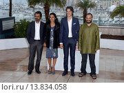 Купить «Nawazuddin Siddiqui, Tannishtha Chatterjee and Vijay Verma - Cannes/France/France - 66TH CANNES FILM FESTIVAL - PHOTO CALL MONSOON SHOOTOUT», фото № 13834058, снято 18 мая 2013 г. (c) age Fotostock / Фотобанк Лори