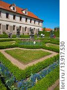 Valdstejnska zahrada the Waldstein gardens park Mala Strana district Prague city Czech Republic Europe. Стоковое фото, фотограф Peter Erik Forsberg / age Fotostock / Фотобанк Лори