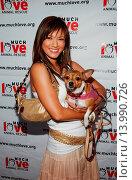 Купить «Kelly Hu & Mushu - Hollywood/California/United States - 4TH ANNUAL MUCH LOVE ANIMAL RESCUE CELEBRITY COMEDY BENEFIT», фото № 13990726, снято 10 августа 2005 г. (c) age Fotostock / Фотобанк Лори