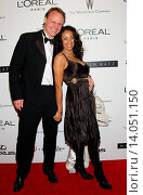 Downtown Julie Brown & husband Martin Schuemann - Beverly Hills/California/United States - THE WEINSTEIN COMPANY 2007 GOLDEN GLOBES AFTER PARTY. Редакционное фото, фотограф visual/pictureperfect / age Fotostock / Фотобанк Лори