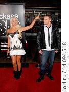 Maryse Ouellet & Mike The Miz Mizanin - Hollywood/California/United States - JACKASS 3D FILM PREMIERE (2010 год). Редакционное фото, фотограф visual/pictureperfect / age Fotostock / Фотобанк Лори