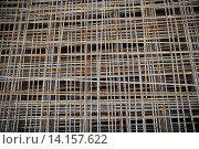 Купить «close up of rusty carcass grid», фото № 14157622, снято 30 сентября 2015 г. (c) Syda Productions / Фотобанк Лори