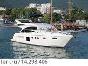 Яхта (2011 год). Редакционное фото, фотограф Ирина Мандровская / Фотобанк Лори