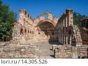 Болгария. Несебрыр. Церковь Святой Софии (2015 год). Стоковое фото, фотограф Андрей Левин / Фотобанк Лори