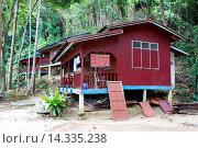 Купить «House on the beach, Island Pulau Perhentian Kecil, D´Lagoon, Terengganu, Malaysia.», фото № 14335238, снято 10 февраля 2006 г. (c) age Fotostock / Фотобанк Лори