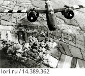 WW II, historical, war, world war, second world war, operation Overlord, Overlord, invasion, aerial, twin engine, US, bombers, A-20 G, Havoc Douglas, June... (2014 год). Редакционное фото, фотограф Schultz Reinhard / age Fotostock / Фотобанк Лори
