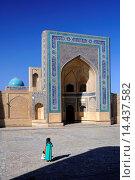 Купить «Kalon mosque. Uzbekistan, Bukhara.», фото № 14437582, снято 15 октября 2013 г. (c) age Fotostock / Фотобанк Лори
