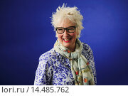 Jenny Eclair, English comedienne, novelist and actor, attending the Edinburgh International Book Festival, Thursday 15th August 2013. Редакционное фото, фотограф Guillem López / age Fotostock / Фотобанк Лори