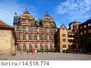 Купить «Heidelberg Castle Germany DE Europe Neckar River.», фото № 14518774, снято 23 мая 2019 г. (c) age Fotostock / Фотобанк Лори