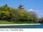 Купить «Okayama Castle», фото № 14659562, снято 23 октября 2018 г. (c) age Fotostock / Фотобанк Лори
