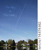 Купить «The Sky Is The Limit», фото № 14674662, снято 27 марта 2019 г. (c) PantherMedia / Фотобанк Лори