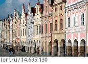 Купить «Telc, World Heritage Site, Czech Republic, Southern Morava, Telc», фото № 14695130, снято 22 октября 2018 г. (c) age Fotostock / Фотобанк Лори