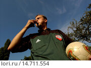 Купить «referee tinglering», фото № 14711554, снято 3 сентября 2004 г. (c) age Fotostock / Фотобанк Лори