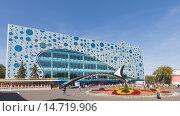 Купить «Центр океанографии и морской биологии «Москвариум» (Moskvarium) на ВДНХ, Москва», фото № 14719906, снято 24 августа 2015 г. (c) Ekaterina Andreeva / Фотобанк Лори