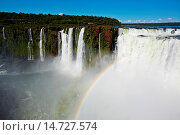 Купить «Iguazú Falls. Iguazú National Park. Argentina/Brazil», фото № 14727574, снято 23 марта 2019 г. (c) age Fotostock / Фотобанк Лори