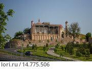 Купить «Uzbekistan , Samarkand City , Khazret Khyzr Mosque ,.», фото № 14775506, снято 23 февраля 2019 г. (c) age Fotostock / Фотобанк Лори