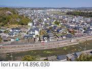 Купить «Tsuyama City, Okayama, Japan», фото № 14896030, снято 21 августа 2018 г. (c) age Fotostock / Фотобанк Лори