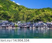 Купить «Boat Shop, Ine, Kyoto, Kinki, Japan», фото № 14904334, снято 21 июля 2018 г. (c) age Fotostock / Фотобанк Лори