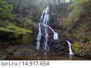 Купить «Waterfall, Yamaguchi, Sanyo, Japan», фото № 14917654, снято 20 сентября 2018 г. (c) age Fotostock / Фотобанк Лори