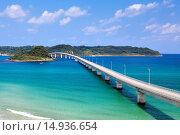 Купить «Corner Shimaoohashi, corner island, Hohoku-cho, Shimonoseki, Yamaguchi, Sanyo, Japan», фото № 14936654, снято 20 сентября 2018 г. (c) age Fotostock / Фотобанк Лори