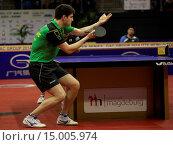 Купить «Tischtennis German Open 2014 vom 26.03. - 30.03.2014 in Magdeburg», фото № 15005974, снято 24 апреля 2019 г. (c) age Fotostock / Фотобанк Лори