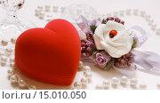Купить «Свадебная композиция», фото № 15010050, снято 24 июля 2014 г. (c) Виктор Топорков / Фотобанк Лори