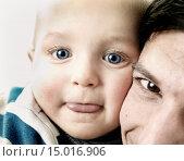 Купить «Close-up of Father and Son», фото № 15016906, снято 4 июля 2020 г. (c) age Fotostock / Фотобанк Лори