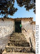 Farm, Los Pozuelos, Almansa, Albacete province, Castilla-La Mancha, Spain. Стоковое фото, фотограф Antonio Real / age Fotostock / Фотобанк Лори