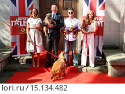 Купить «Britain's Got Talent - press launch held at St Luke's Church - Arrivals Featuring: Simon Cowell,David Walliams,Amanda Holden,Alesha Dixon Where: London...», фото № 15134482, снято 9 апреля 2014 г. (c) age Fotostock / Фотобанк Лори