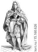 Купить «Charles VI, 1685 - 1740, Holy Roman Emperor, King of Bohemia, Hungary, Croatia and Serbia, Archduke of Austria, Charles II of Spain», фото № 15160626, снято 24 ноября 2014 г. (c) age Fotostock / Фотобанк Лори