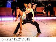 couple dancing latin dance. Стоковое фото, фотограф Zoonar/J.Tarczynski / age Fotostock / Фотобанк Лори