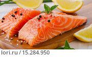 Salmon. Стоковое фото, фотограф Tatjana Baibakova / Фотобанк Лори