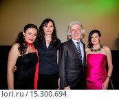 Idil Uener, the Turkish Ambassador Hueseyin Avni Karslioglu, Siir... (2014 год). Редакционное фото, фотограф AEDT / WENN.com / age Fotostock / Фотобанк Лори