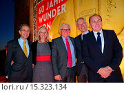A gala held at Berlin's Swiss Embassy celebrates the 60th anniversary... (2014 год). Редакционное фото, фотограф AEDT / WENN.com / age Fotostock / Фотобанк Лори