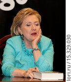 Купить «Former U.S. Secretary of State and First Lady Hillary Clinton signs copies of her new book 'Hard Choices' at Indigo Bookstore Featuring: Hillary Rodham...», фото № 15329030, снято 17 июня 2014 г. (c) age Fotostock / Фотобанк Лори